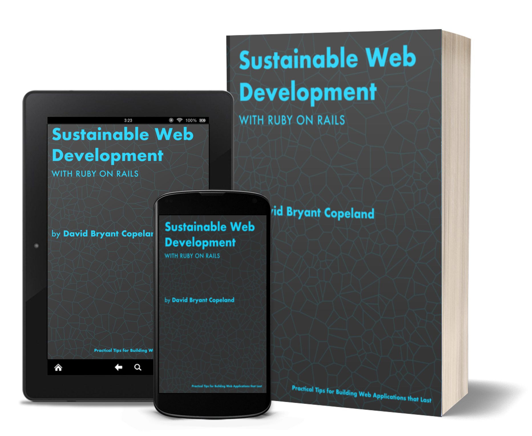 Cover to Sustinable Web Development with Ruby on Rails